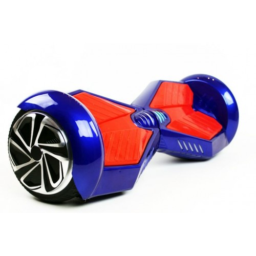 Lambo Hoverboard Blue Red W Bluetooth