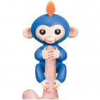 Fingerling Style Robotic Monkey Toy - Baby Finger Monkey Blue
